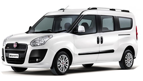 A Fiat Doblo is a great car to hire/rent  for all the family
